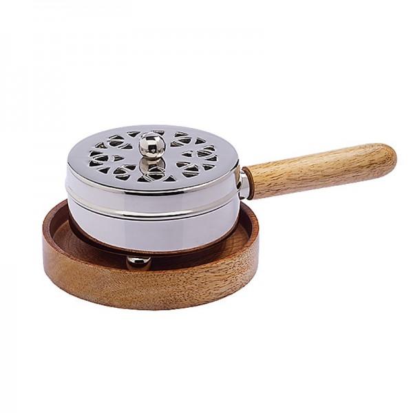 Gebetsmühle - Räuchergefäß mit Stiel