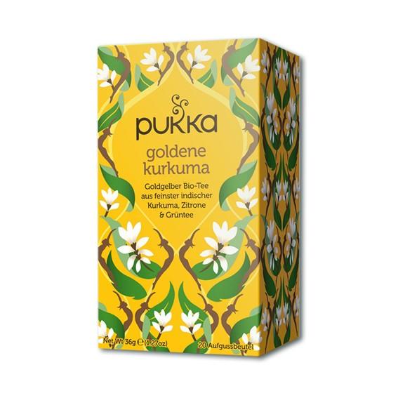Goldene Kurkuma Pukka Tee Bio