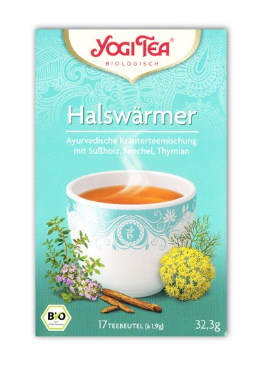 Halswärmer Tee Aufgussbeutel bio